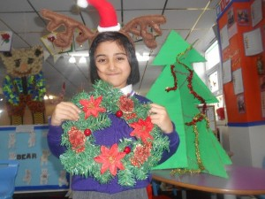 "Saarah: ""We have learnt about Christmas, it was exciting"""
